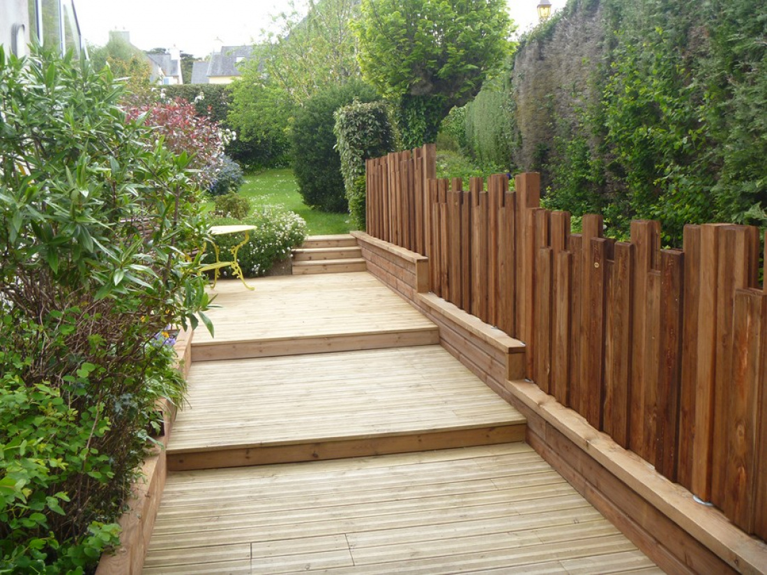 Le bois est un éléments esthétique et chaleureux, qui demande peu d'entretien