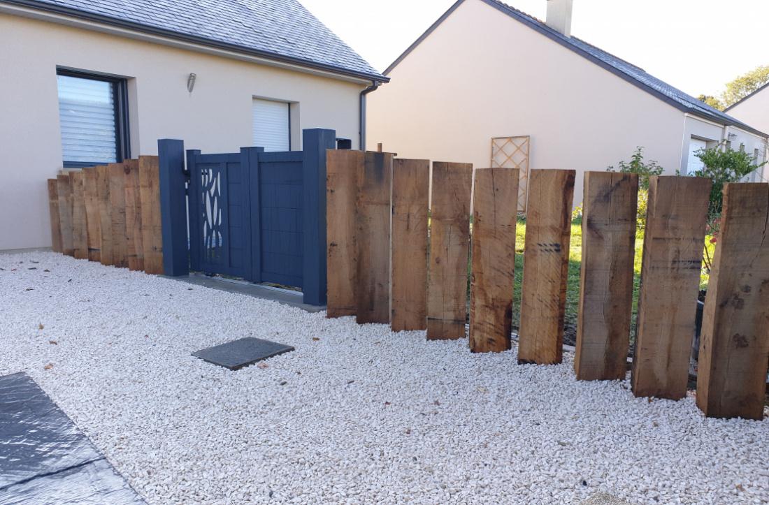 Une clôture esthétique pour votre exterieur