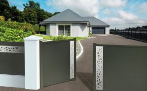 Choisir entre le portail plein, semi-ajouré ou ajouré pour votre installation