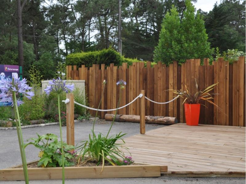 Installation, pose de clôture