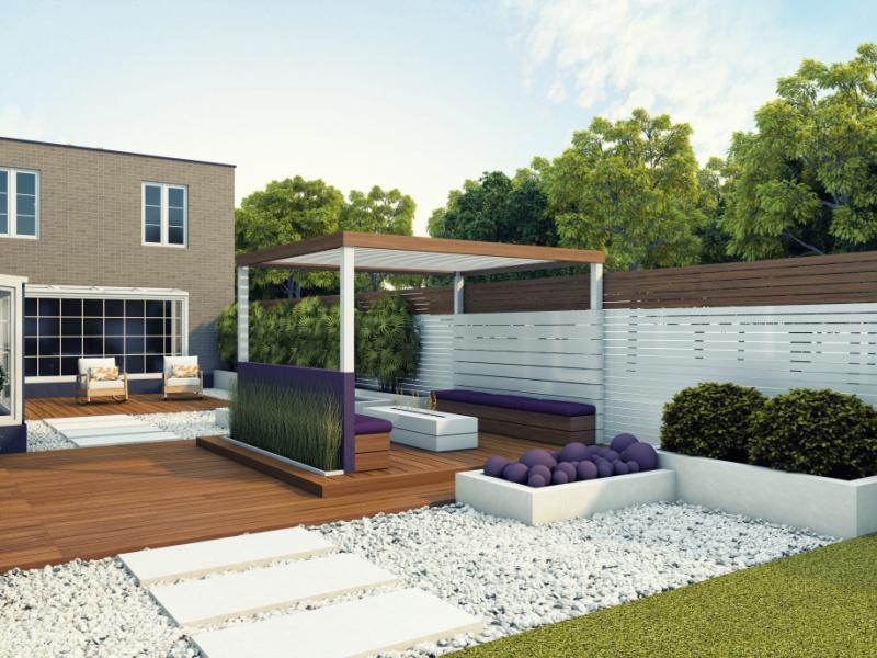 Un jardin moderne et esthétique grâce à vos installations extérieures