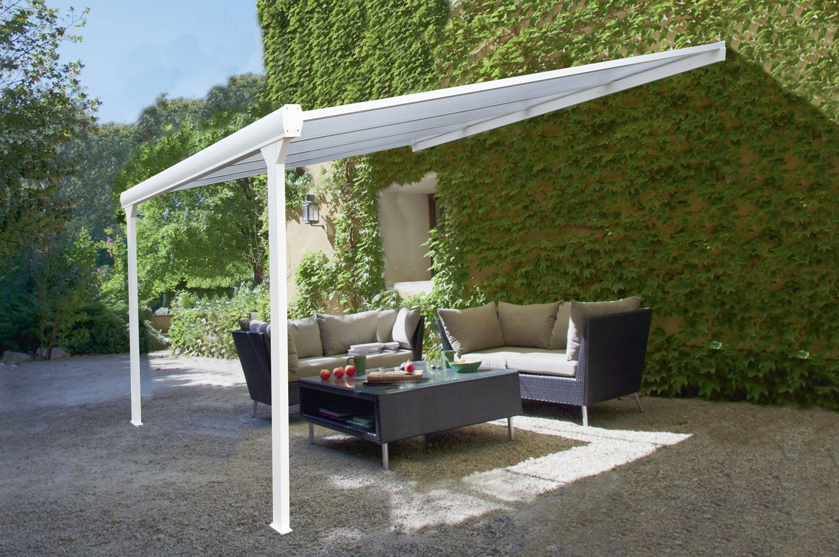 Optez pour la pergola aluminium toiture fixe - Daniel Moquet ...